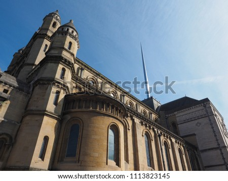 St Anne Cathedral (aka Belfast Cathedral) church in Belfast, UK
