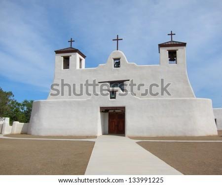 St. Augustine Church in Isleta Pueblo, New Mexico