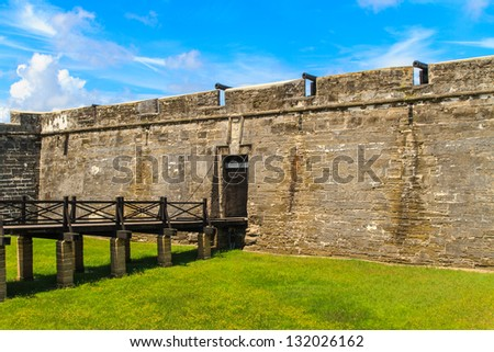St. Augustine Fort, Castillo de San Marcos National Monument, Florida