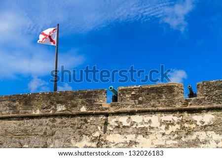 St. Augustine Fort, Castillo de San Marcos National Monument, Florida