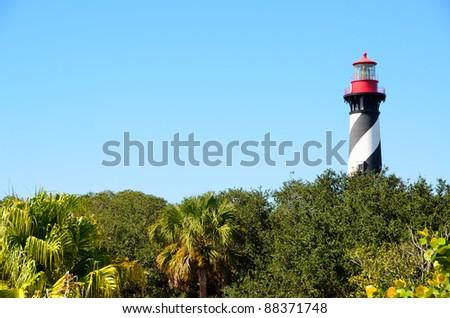 st augustine lighthouse florida usa