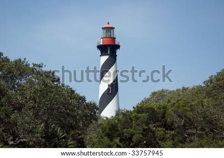 St. Augustine Lighthouse Landscape