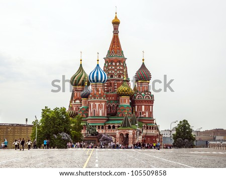 St. Basil , Moscow