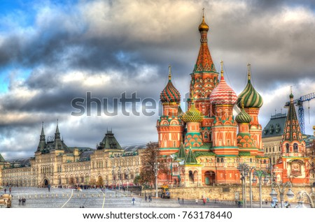 st basil's cathedral #763178440
