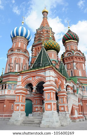 St. Basil's Cathedral. Moscow