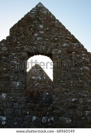 St Ciaran's Cathedral ruin layers