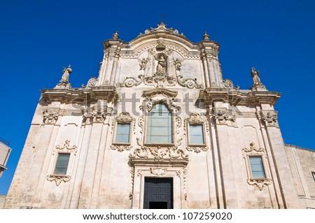 St. Francesco d'Assisi Church. Matera. Basilicata. Italy.