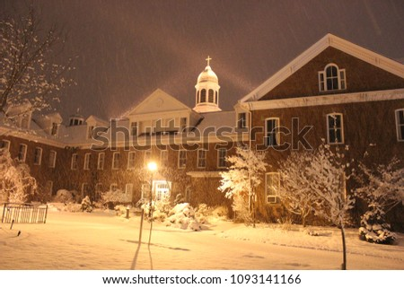 St. Francis Xavier University- Xavier Hall in Winter
