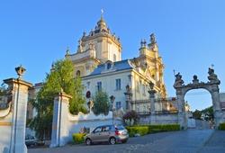 St. George (aka St.Yura) Cathedral in Lviv, Ukraine
