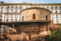 St George church (Rotonda) in Sofia, Bulgaria. Touristic landmark
