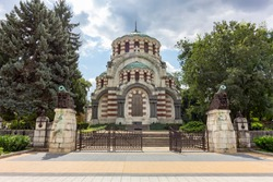 St. George the Conqueror Chapel Mausoleum, City of Pleven, Bulgaria
