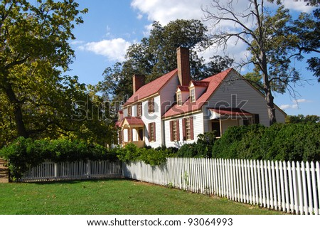 St. George Tucker House - Colonial Williamsburg, VA