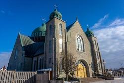 St. George Ukrainian Catholic Church in Oshawa, Ontario, Canada.