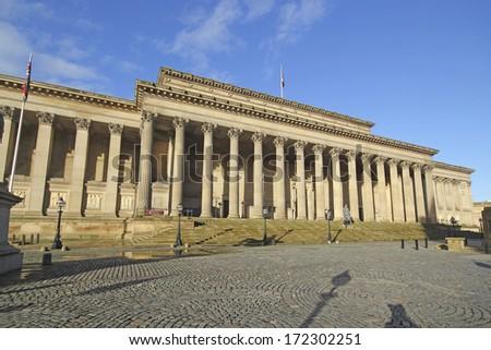 St Georges Hall, Liverpool, UK.