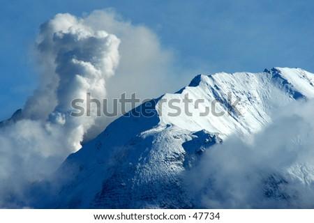 St. Helens eruption