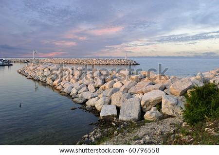 St. Ignace marina.Michigan
