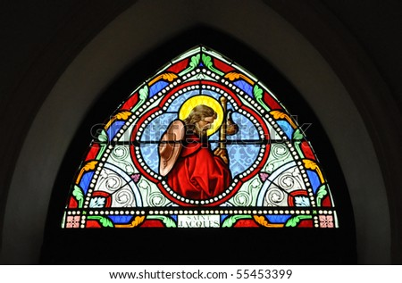 St. Jacques Stained Glass Color
