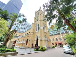 St John's Cathedral, Hong Kong, Central
