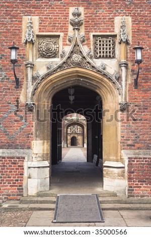 St.John?s College in Cambridge University, England