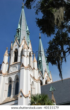 St John the Baptist Cathedral Spires