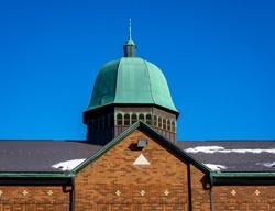 St. John the Baptist Ukrainian Orthodox Church in Oshawa, Ontario, Canada.