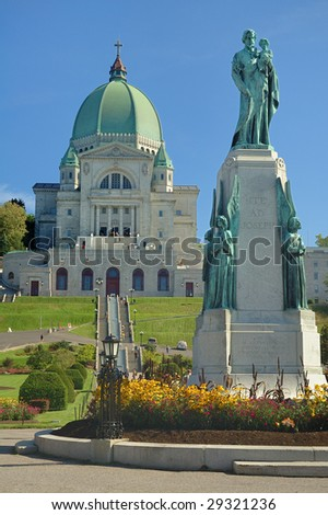 St. Joseph Oratory and St. Joseph monument, Montreal, Canada