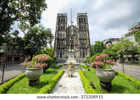 St Joseph's Cathedral in Hanoi, Hanoi, Vietnam