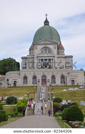 St Joseph's Oratory at Mount Royal in Montreal, Canada