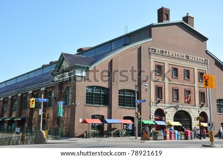St Lawrence Market in Toronto, Canada