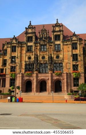 st. louis city hall   landmark...