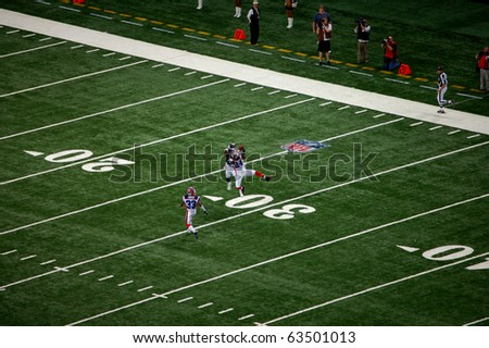 ST. LOUIS - SEPTEMBER 28: Cornerback Terrence McGee (24) of the Buffalo Bills intercepts a pass thrown by St. Louis Rams quarterback Trent Green (not pictured)  September 28, 2008 in St. Louis, MO