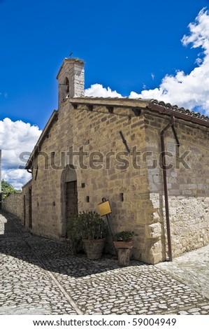 St. Lucia Church. Montefalco. Umbria.