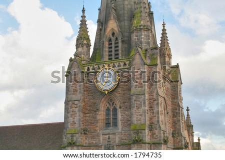 St. Martin's church  in Birmingham (England)