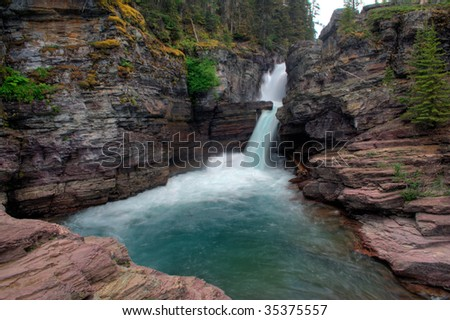 glacier national park montana. in Glacier National Park,
