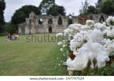 St Mary's Abbey, York, United Kingdom #147747524