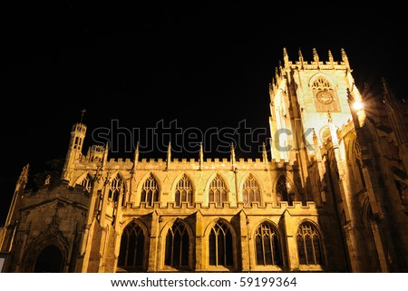 St. Mary's Church in Beverley, England.