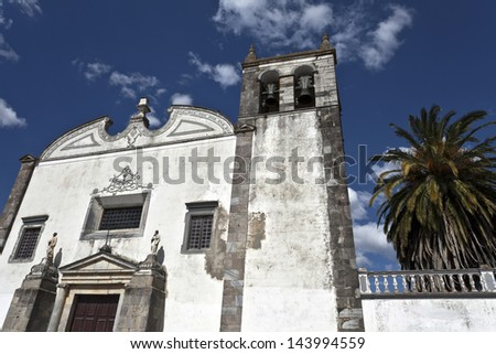 St Mary�s Church in Serpa, Portugal