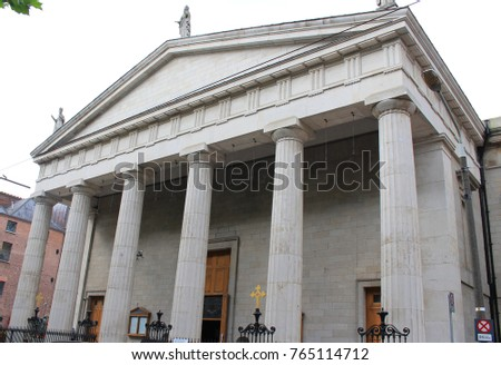 St Mary's Pro Cathedral in Dublin, Ireland Stock photo ©