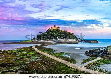 St.Michaels Mount, Cornwall England