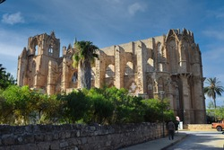 st. Nicolas Cathedral in Famagusta, Cyprus island