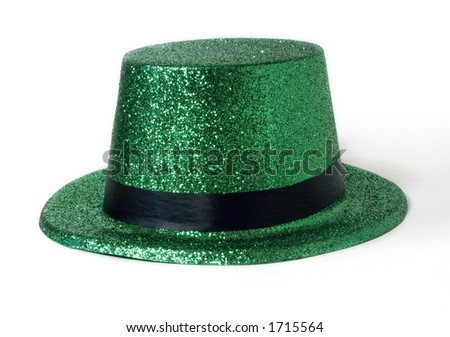 St. Paddy's Day Green Leprechaun Hat