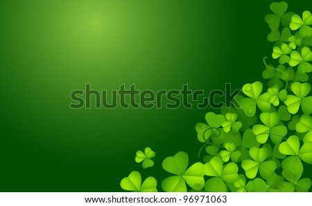 St. Patrick background