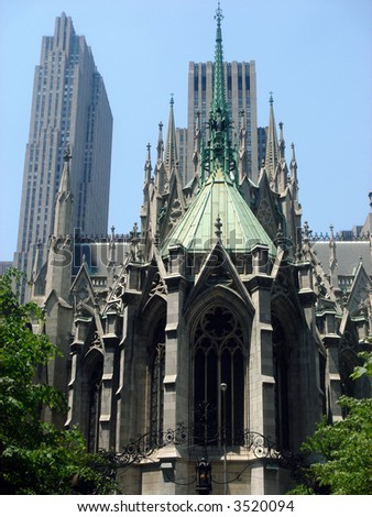 St. Patrick Cathedral Foto stock ©
