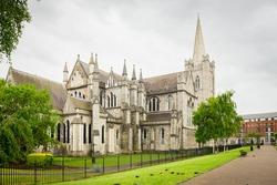 St. Patrick cathedral at Dublin, Ireland.