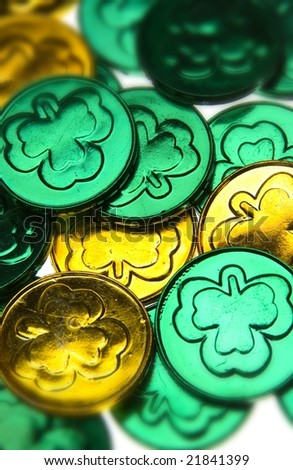 st patrick day coins