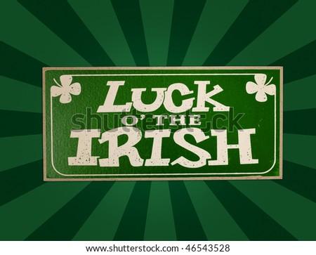 st. patrick luck irish
