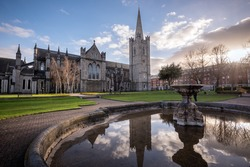 St Patrick's cathedral church is a national church of Republic of Ireland situated in capital Dublin.