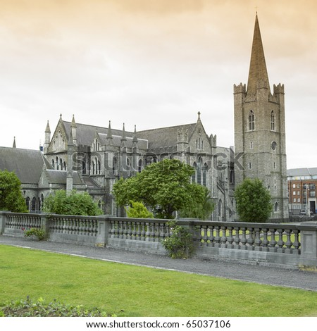 St.Patrick's Cathedral, Dublin, Ireland
