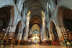 St. Patrick's Cathedral in Dublin, Ireland.