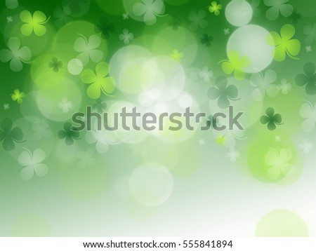 St. Patrick's Day celebration greeting card